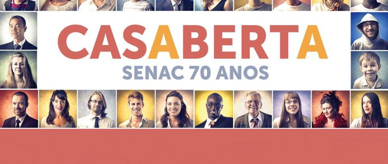 EVENTO: CASA ABERTA – SENAC 70 ANOS – 10/12