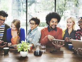 reuniões de networking